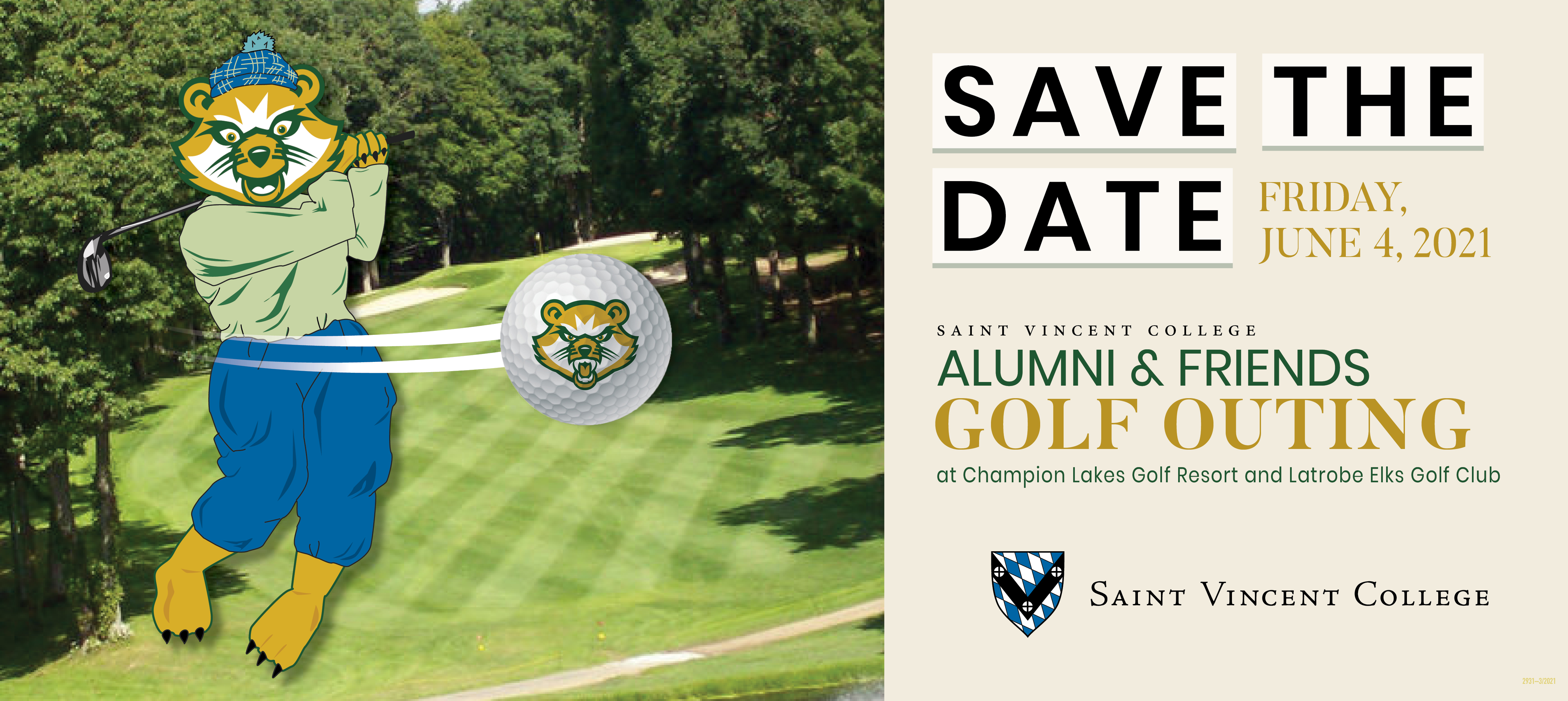 Alumni Friends Golf Outing Ad