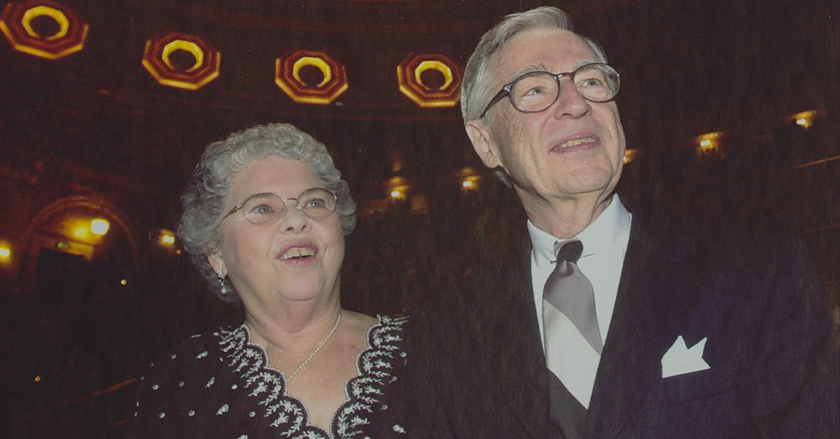Joanne and Fred Rogers