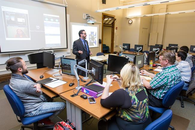 Urick teaching class